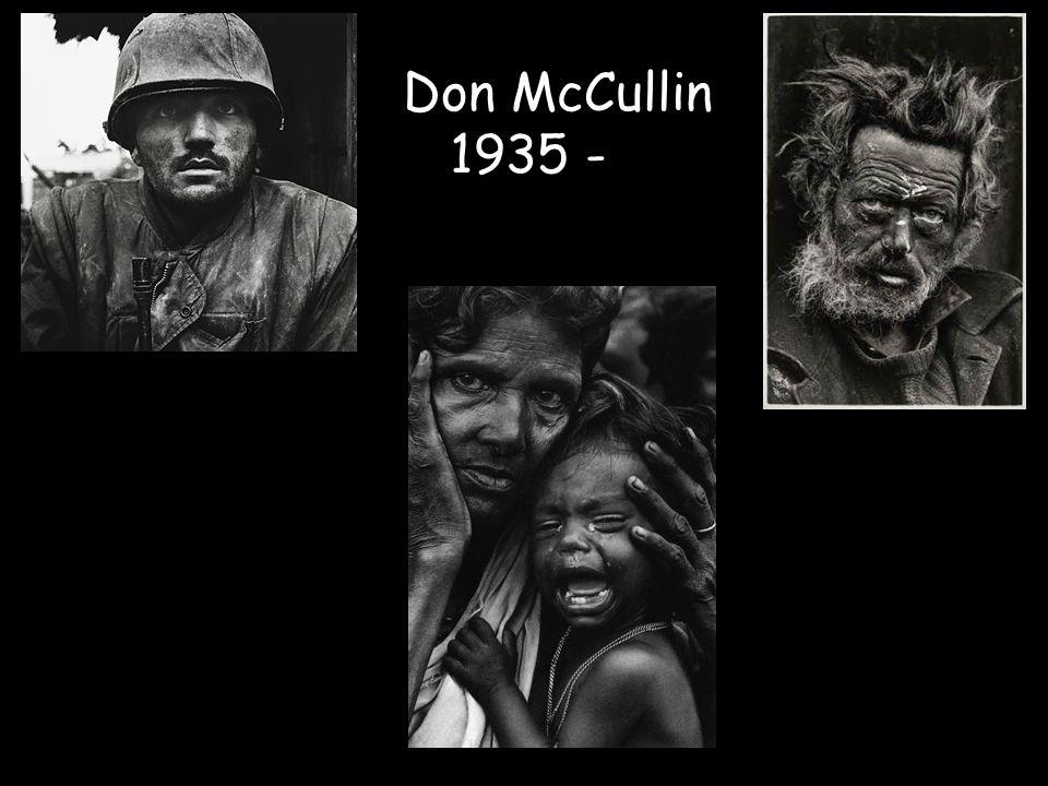 Don McCullin 1935 -