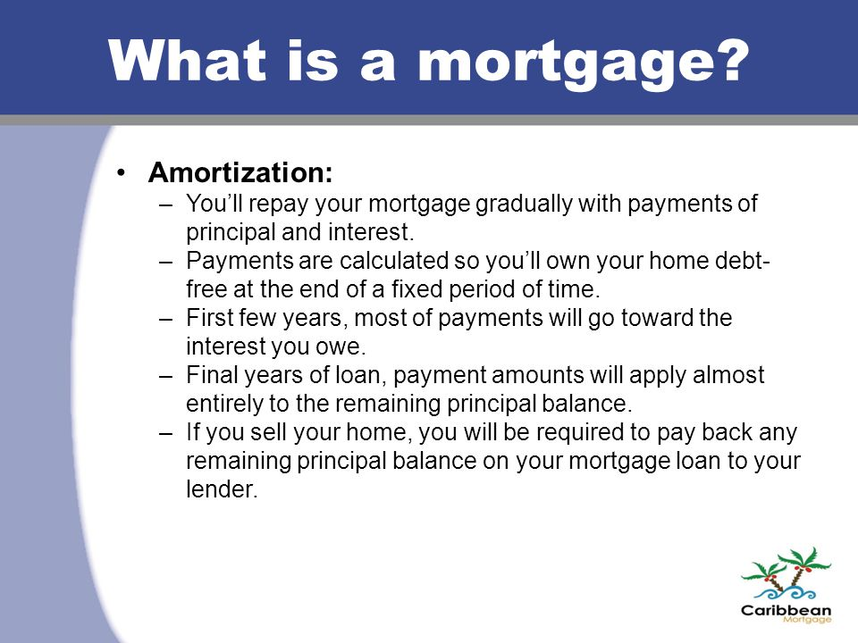 Types of loan programs Everyone has different needs so consider options.