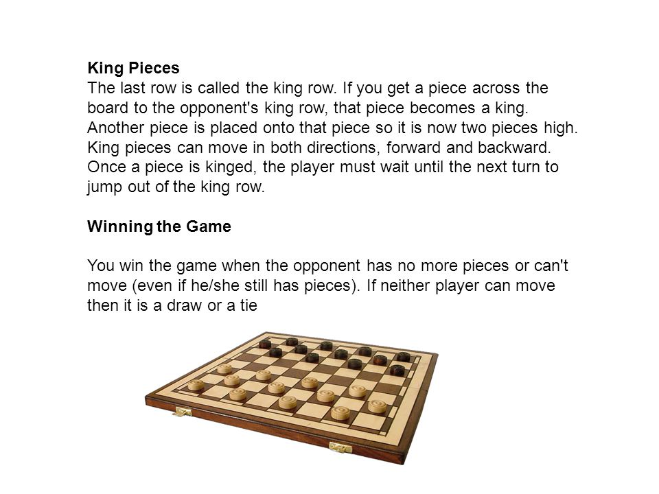 Draughts ( warcaby) Though most people do not know it, the game we know today as Draughts has a long and storied history.It was played throughout the