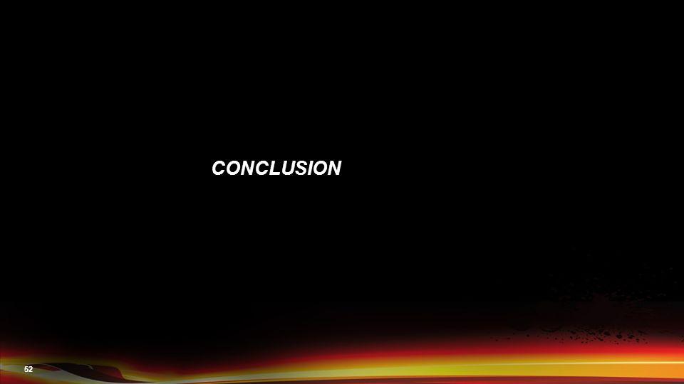 52 CONCLUSION
