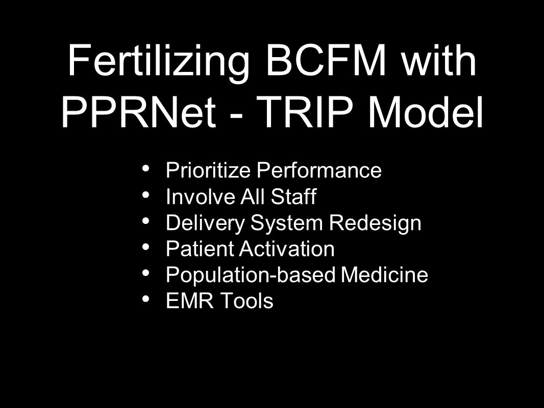 Byron Center Family Medicine Strategic Plan MISSION To provide a innovative patient centered family medicine home that exceeds patient expectations and improves the quality of life of our patients and the community.