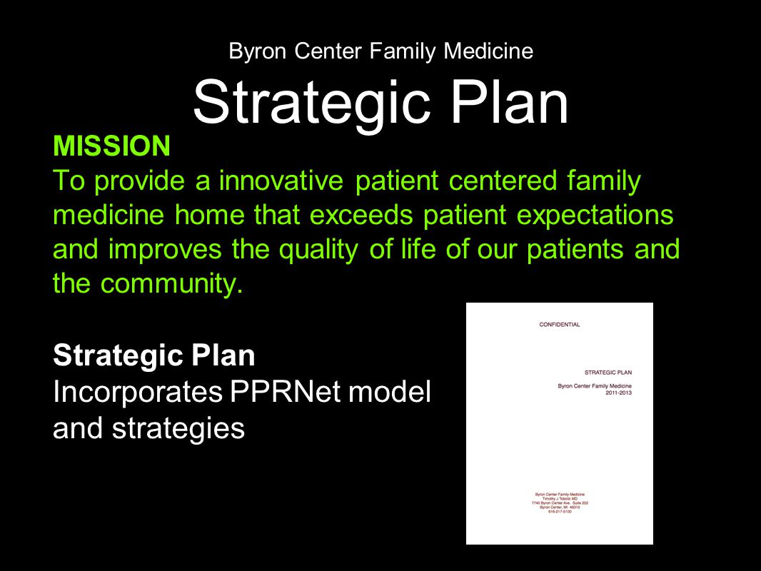 PPRNet TRIP Projects Benefits Focus on important Quality Initiatives - Preventive care & Chronic disease management.