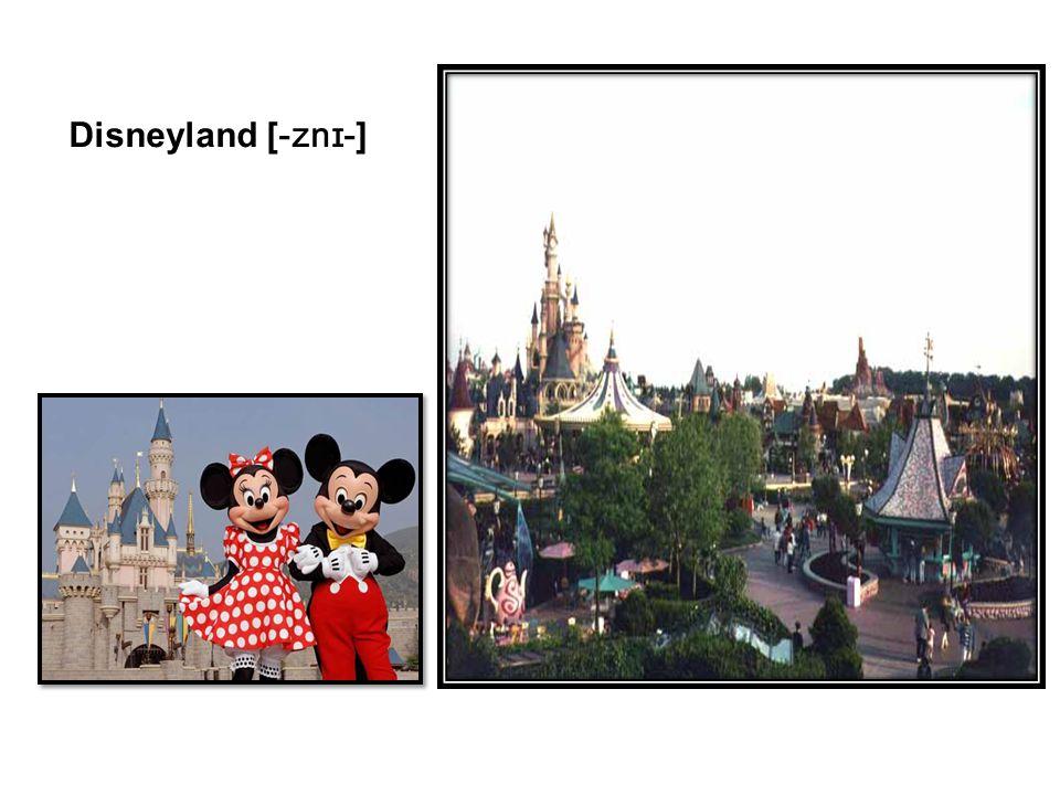 Disneyland [ -znɪ- ]