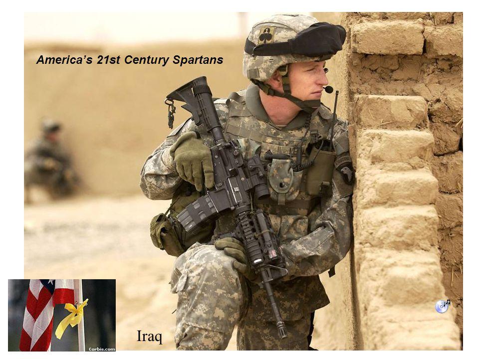 Iraq America's 21st Century Spartans