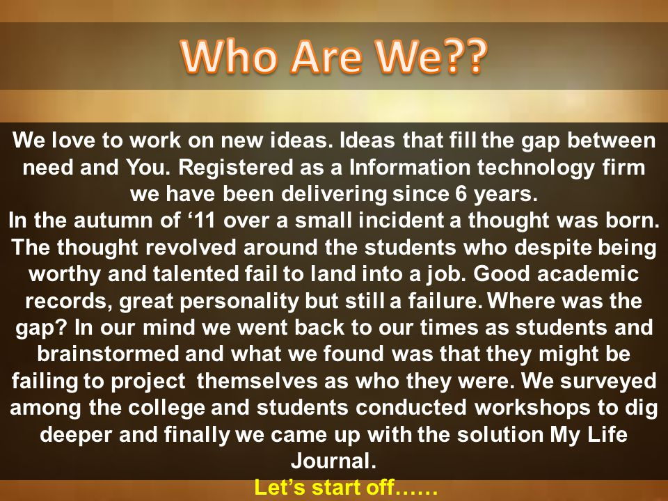 A Concept By Vision India in Technical Association with iRebel Webtech http://www.visionindiabiz.com http://www.irebelwebtech.com Get edge in Job Interviews and become the CEO of your Career using Online Personal Branding