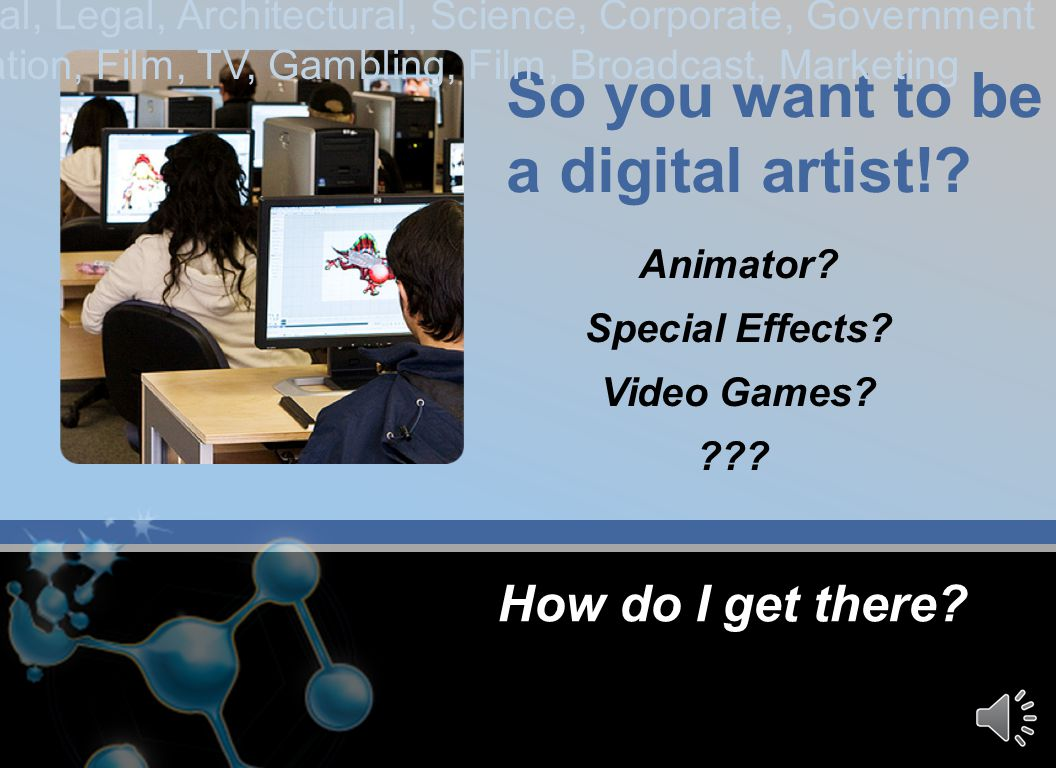 Imagination Exchange mission is to: build an online community portal between industry leaders, technology providers, educators and digital artist to g