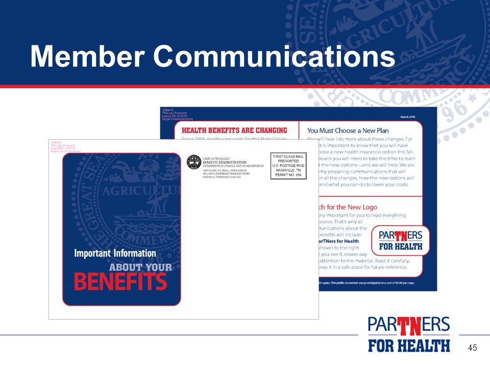45 Member Communications