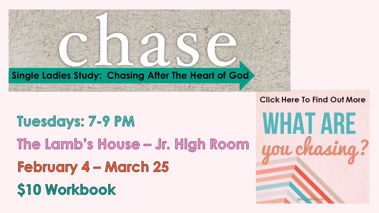 Click Here To Find Out More Single Ladies Study: Chasing After The Heart of God