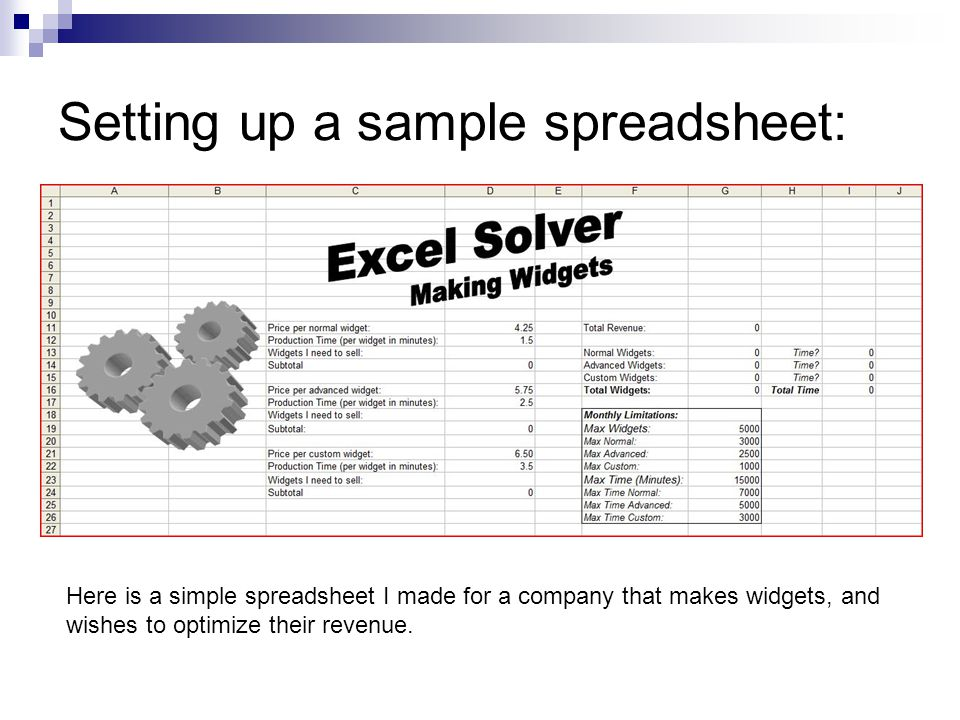 Behind the curtains: A closer look at the formulas that the spreadsheet depends on…