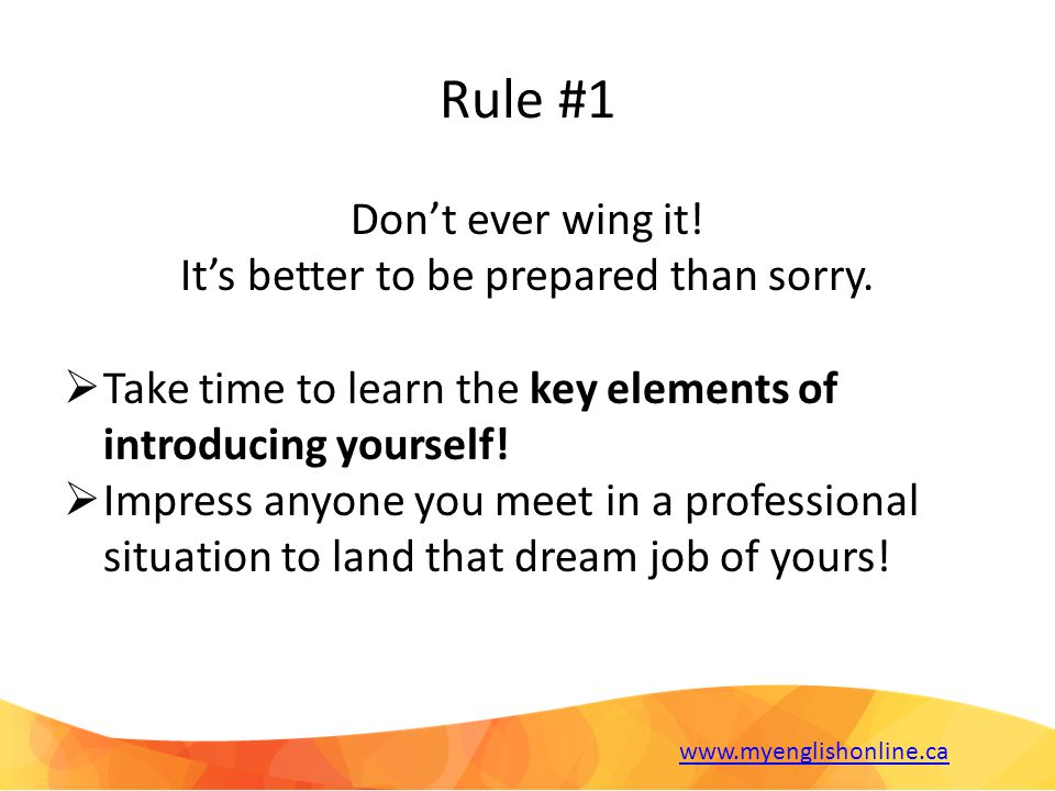 Tips for Your Goals 1.Mention what you want to achieve in your professional career.