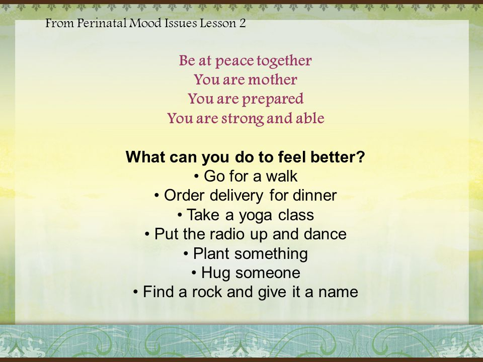 ~ Prebirth Bonding~ Learn exercises and meditations to encourage communication with your baby in the womb, optimizing mental and sensory development as well as promoting the special bond between baby and parent.