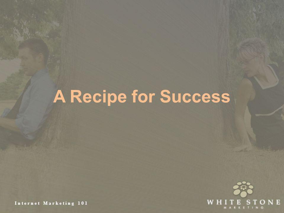 Internet Marketing 101 A Recipe for Success
