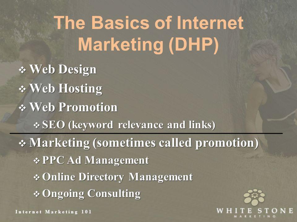Internet Marketing 101 The Basics of Internet Marketing (DHP)