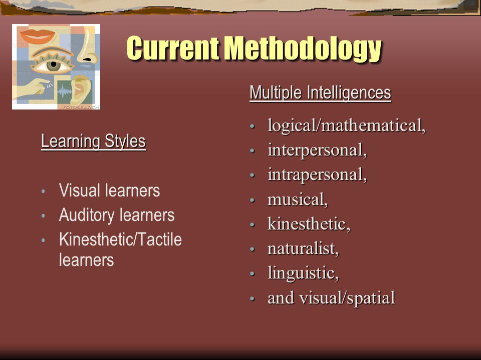 Current Methodology Social or Emotional Intelligence/Learning Psychologist and author Daniel Goleman popularized the termDaniel Goleman emotional intelligence in 1995.