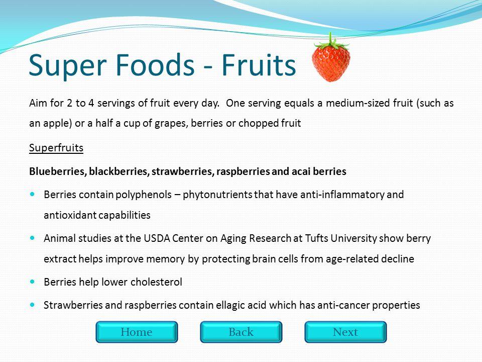 Which super food contains resveratol.A. Bananas Bananas B.