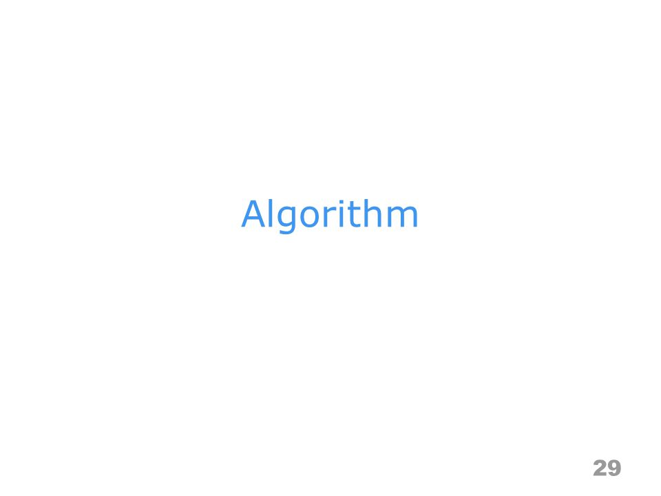 Algorithm 29