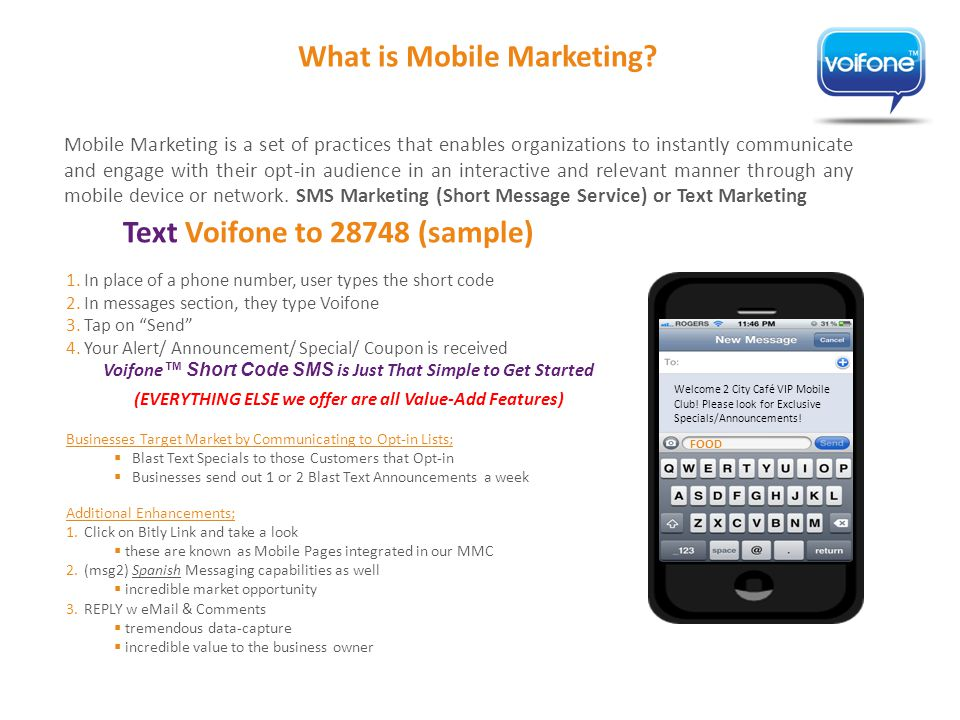 What is Mobile Marketing.