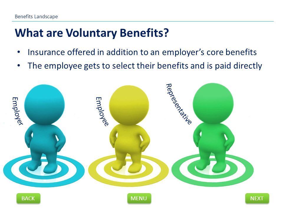 What are Voluntary Benefits.