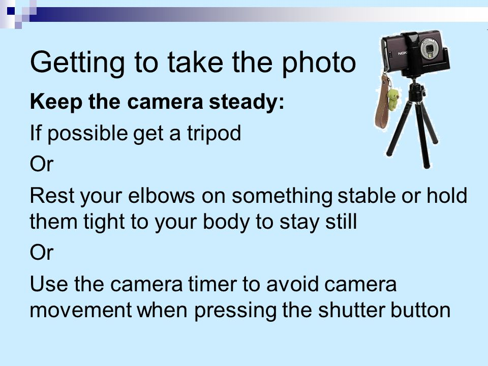 You can… check whether your camera has image stabilisation – yet it does not always help (depends on your style)… especially for video.