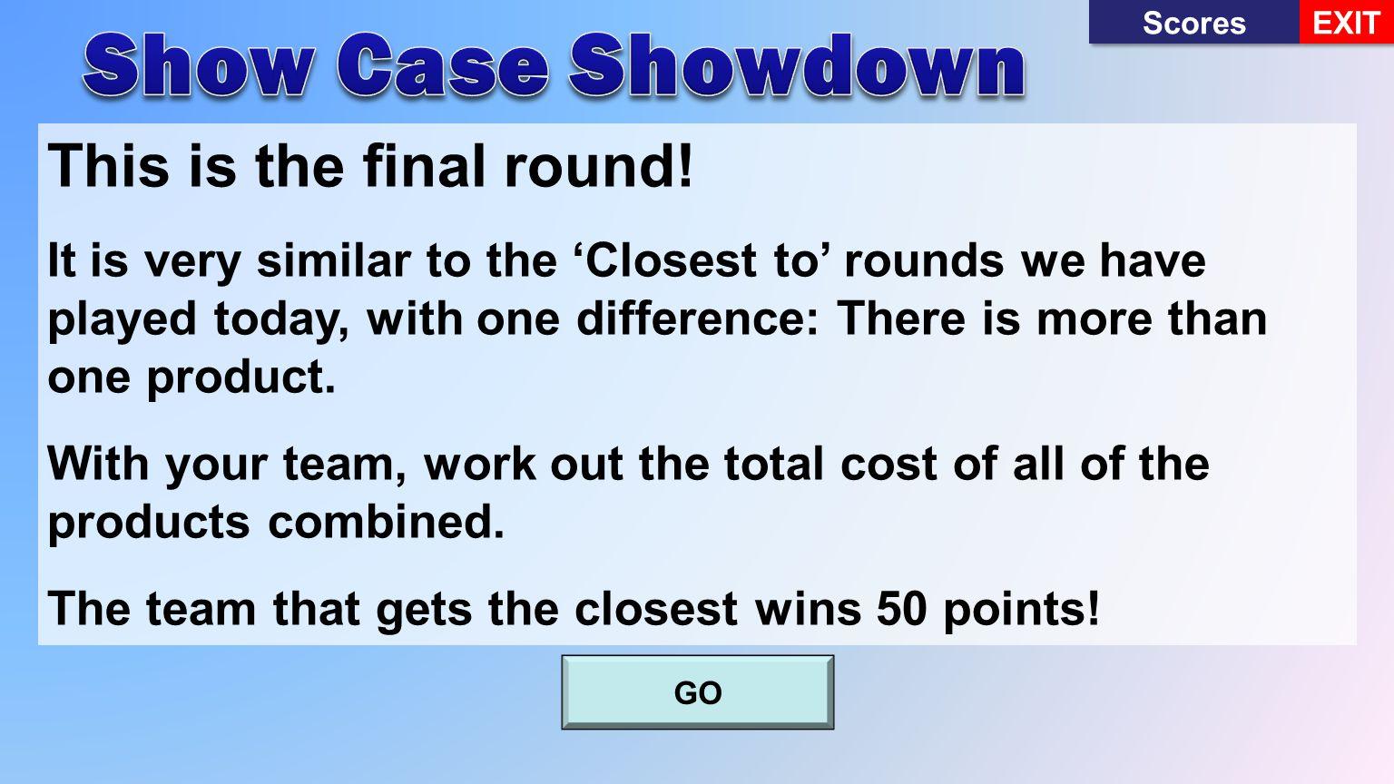 Scores EXIT 7480Won10900Won6900Won You chose 1You chose 2you chose 3 Continue Incorrect 