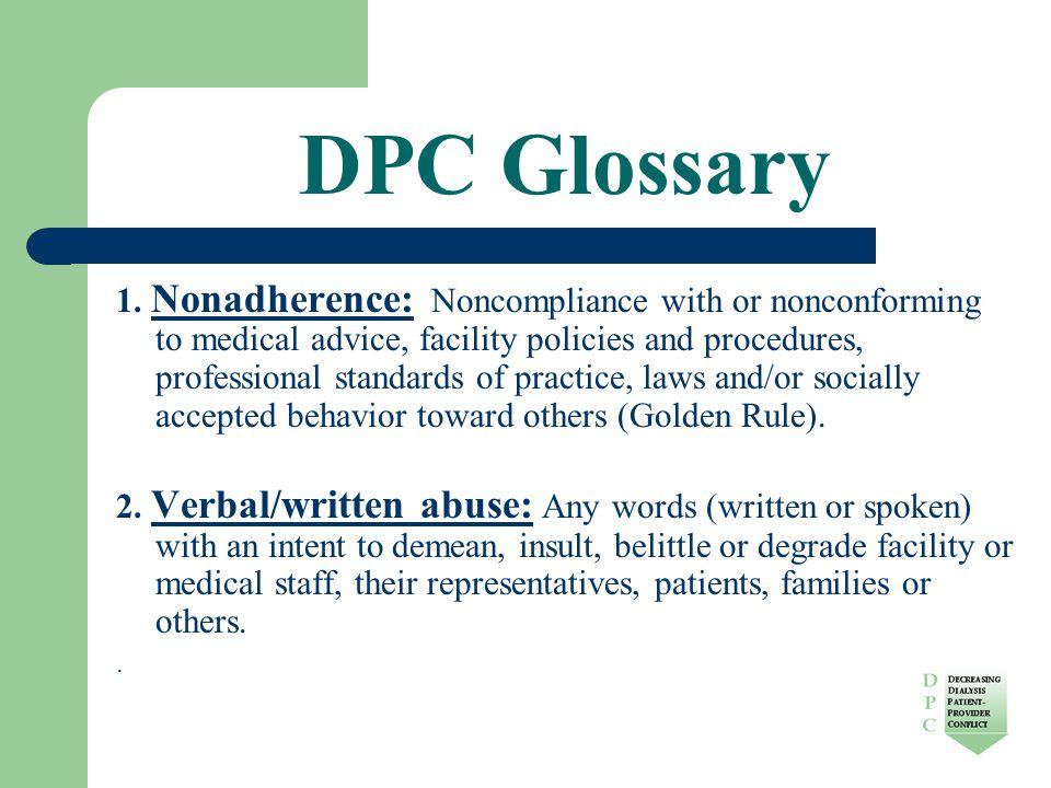 DPC Glossary 1.