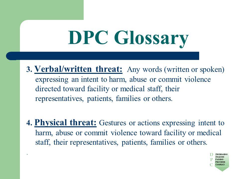 DPC Glossary 3.