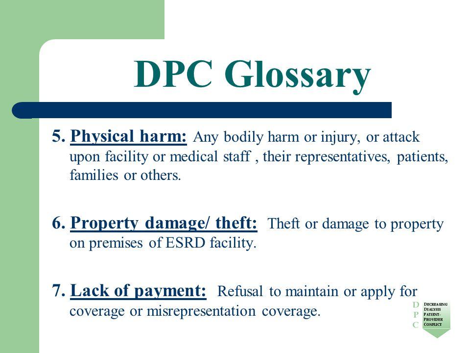 DPC Glossary 5.