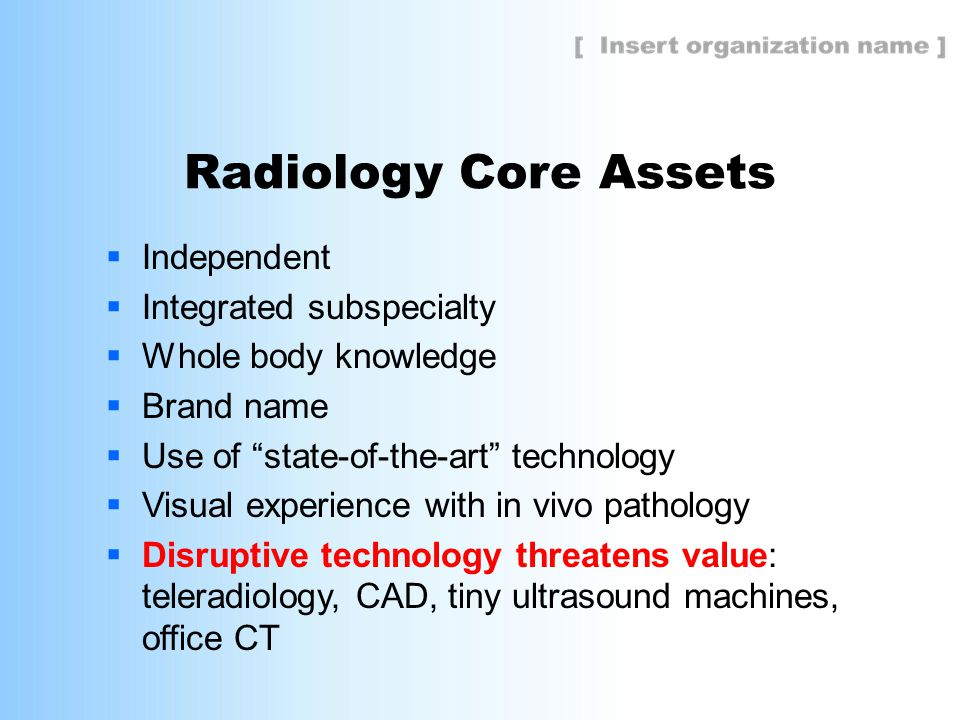  www.RadiologyCares.org  Radiologist resource for patient-centered care  Access to related scientific and consumer media articles and videos  Available customizable presentation decks  Source to take the Radiology Cares ® pledge in support of patient-centered practices