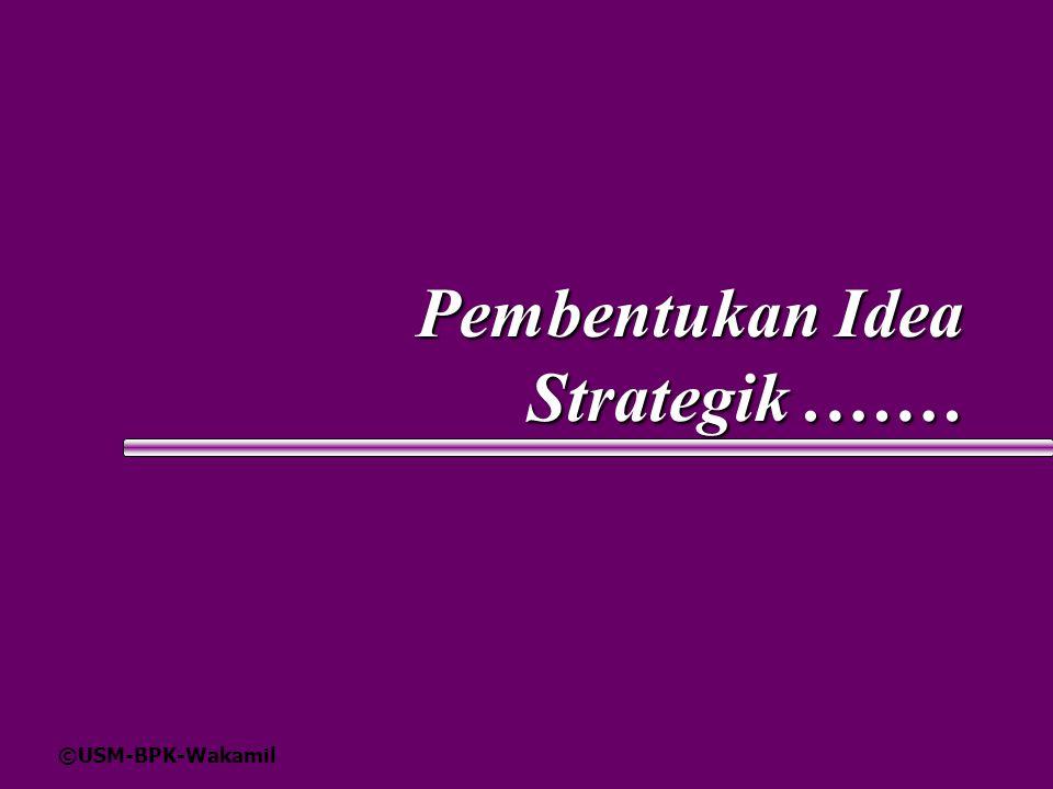 ©USM-BPK-Wakamil Pembentukan Idea Strategik.……