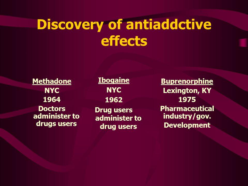 Pharmaceutical ibogaine experimental medication