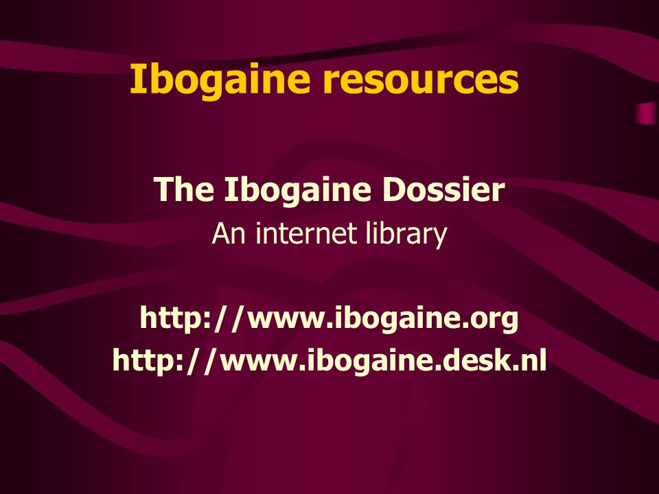 Ibogaine availability