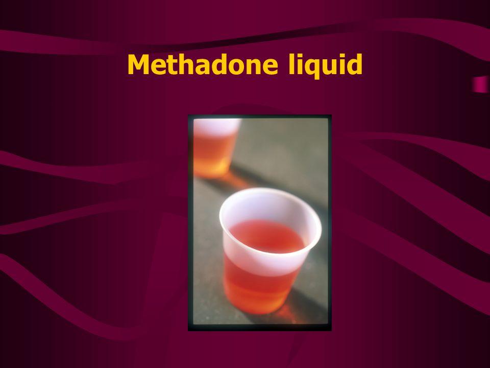 Methadone diskets
