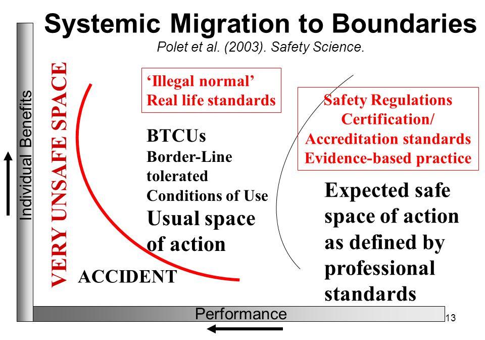 13 Systemic Migration to Boundaries Polet et al. (2003).