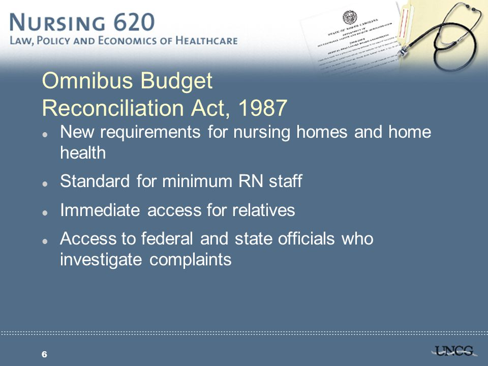 7 Legal Status of Patient Rights l Bills of Rights that become laws or state regulations carry most authority l Hospital may jeopardize funding from Medicare/Medicaid if found in violation of regulations l Bills of Rights professionally binding