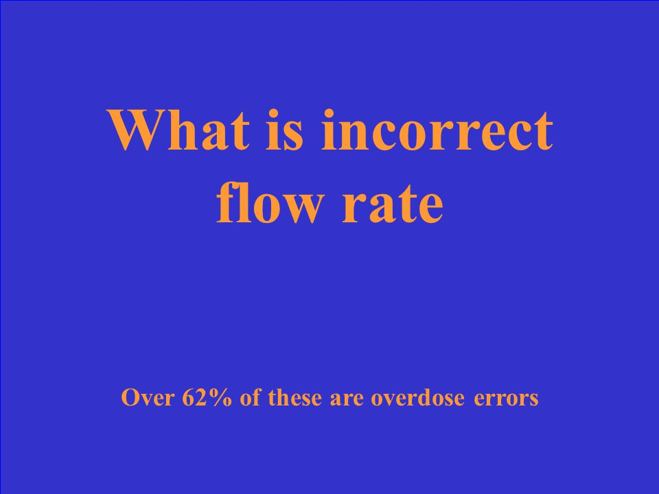 Of the major categories of infusion pump errors, this one leads the list at 58%