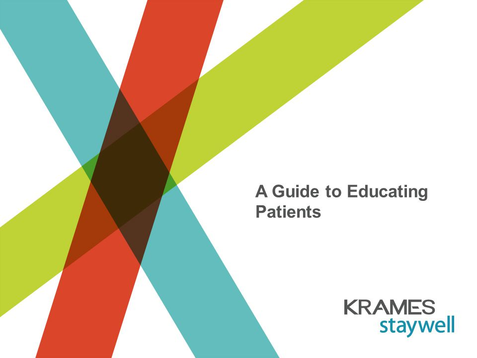 Patient Education - Introduction Skill Building and Responsibility – Patients need to know when, how, and why they need to make a lifestyle change Group Effort – Each member of the patient's health care team needs to be involved What is Patient Education?