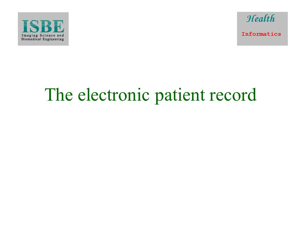 EHR continued Its primary purpose is the support of continuing, efficient and quality integrated health care and it contains information which is retrospective, concurrent, and prospective
