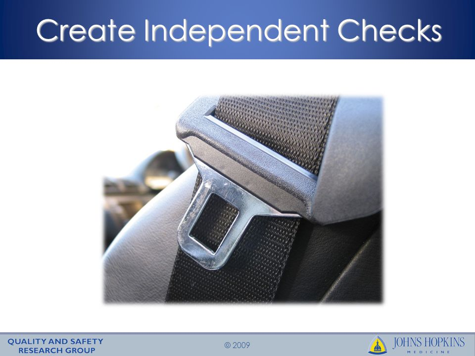 © 2009 Create Independent Checks