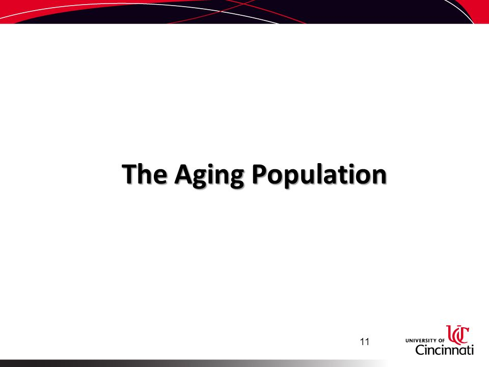 The Aging Population 11