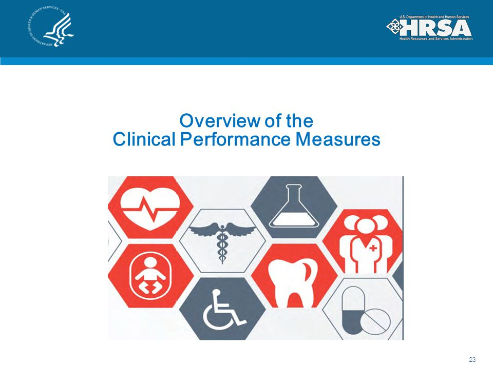 Overview of the Clinical Performance Measures 23