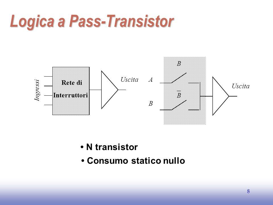 EE141 19 Ottimizzazione del tempo di ritardo Ritardo di una catena RC Ritardo di una catena RC con buffer