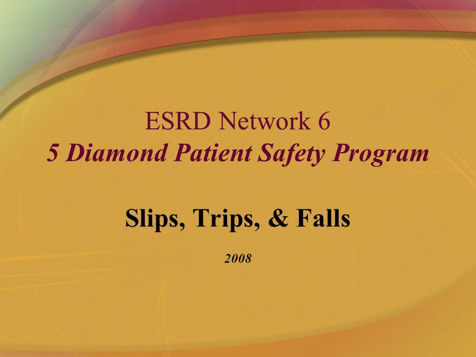 ESRD Network 6 5 Diamond Patient Safety Program Slips, Trips, & Falls 2008