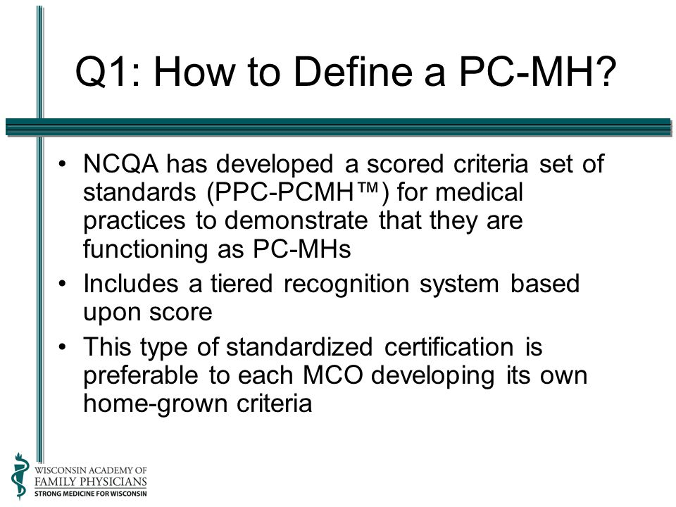 Q1: How to Define a PC-MH.