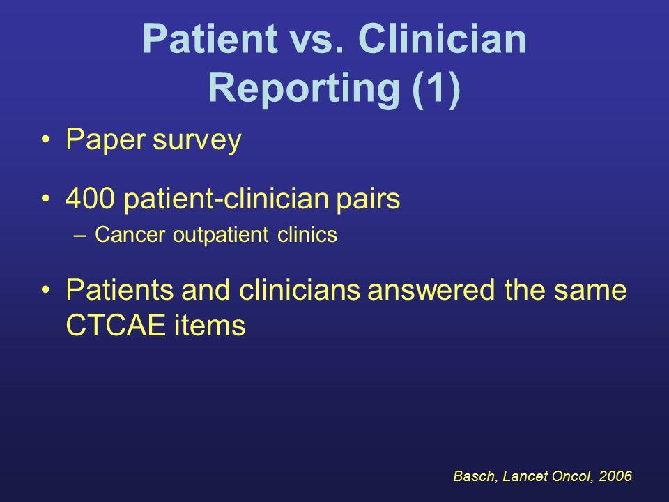 Patient vs.