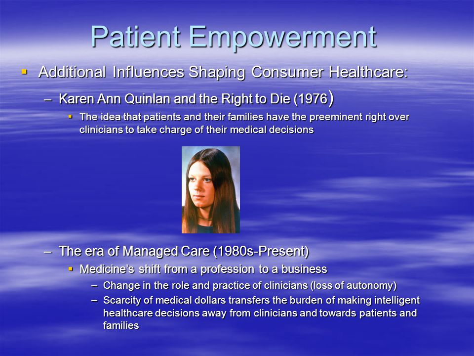 Patient- and Family-Centered Care  Patient- and family-centered care is an approach to the planning, delivery, and evaluation of health care that is grounded in mutually beneficial partnerships among health care patients, families, and providers.