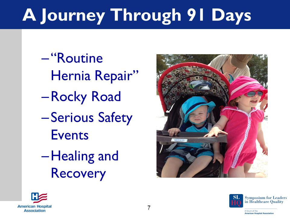 """A Journey Through 91 Days –""""Routine Hernia Repair"""" –Rocky Road –Serious Safety Events –Healing and Recovery 7"""