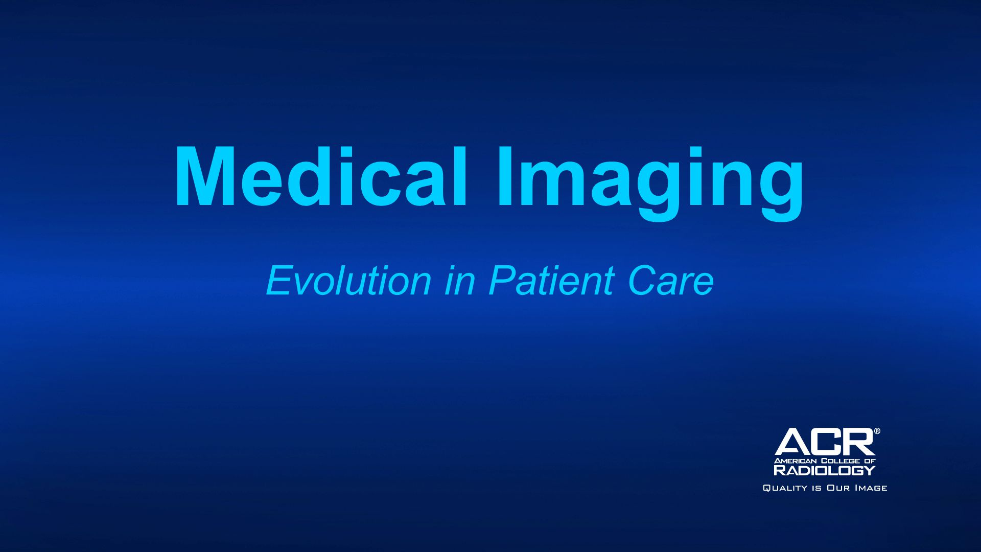 Medical Imaging Evolution in Patient Care