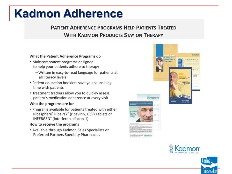 Kadmon Adherence