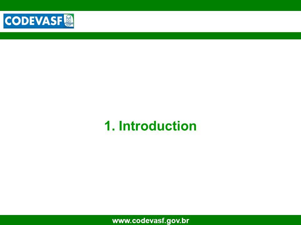 4 www.codevasf.gov.br 1. Introduction