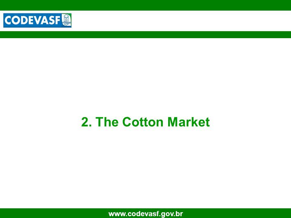 6 www.codevasf.gov.br 2. The Cotton Market
